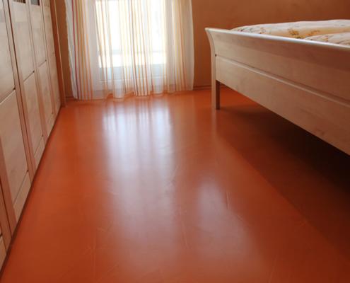Schlafzimmer, Fugenloser Boden, Cosmato, Dracholin