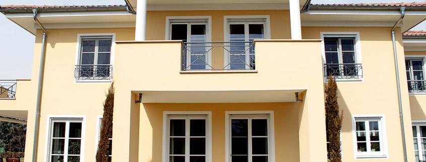Fassadengestaltung, Faschen, mediterrane Fassade
