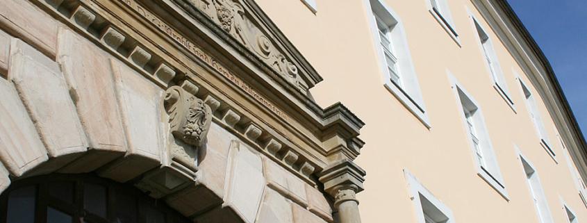 Keim, Purkritalat, Keimfarben, Schloss Ellwangen, historische Bauwerke