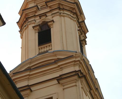 Schönenberg Ellwangen, Kirche, Barockkirche, Denkmalschutz, Keim, Purkristalat