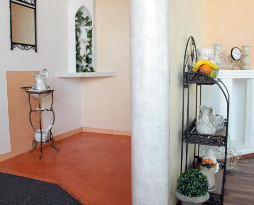 Ausstellung, Neuler, Raumgestaltung, Stuck, Innenraumgestaltung, mediterrane Innenputze